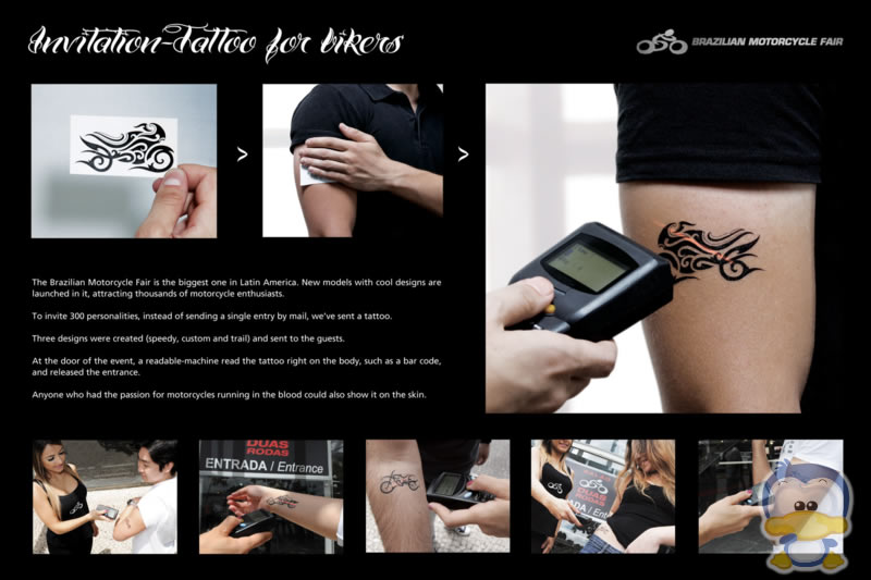 Interactive Marketing - Special Code - Tattoo