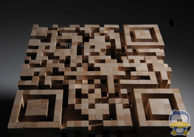 Interactive Marketing - QR codes - 3D cube