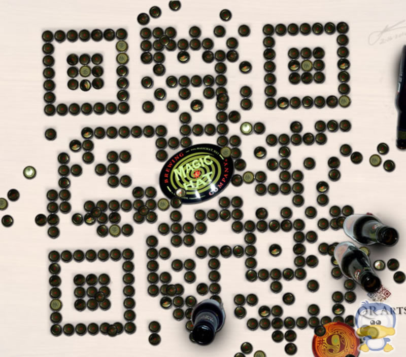 Interactive Marketing - QR codes - Magic Hat